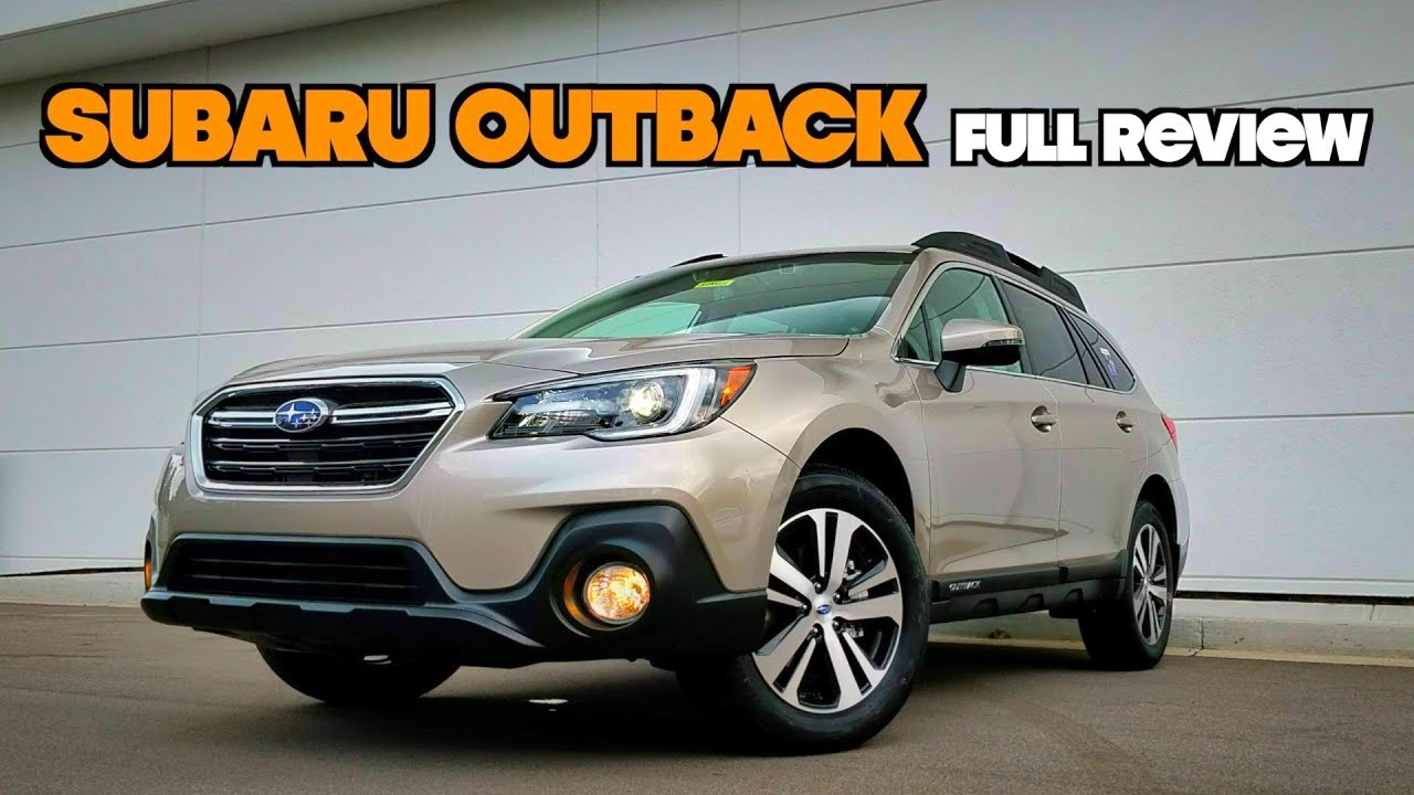 2019 Subaru Outback Full Review Refinements To The Most Important