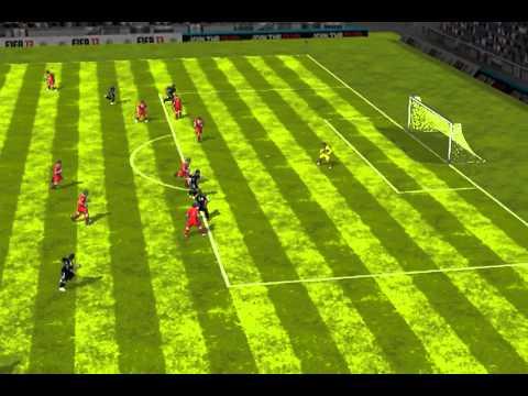 FIFA 13 iPhone/iPad - DETROIT THUNDER vs. Ross County