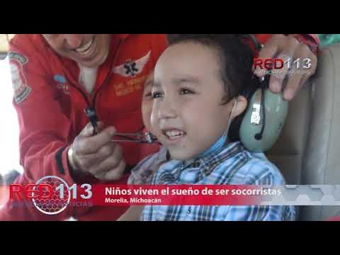 VIDEO Niños viven el sueño de ser socorristas