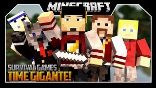 TIME GIGANTE - SURVIVAL GAMES  ‹ c/ Wolff, Kazzio, Batista, Moon & Miss ›