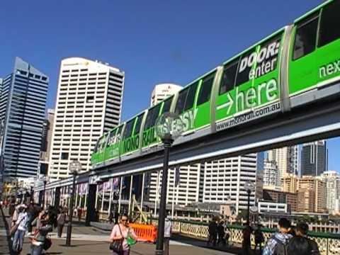 Sydney Monorail train