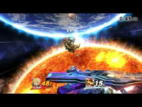 Lvl 50 Amibo vs Cloud SSB4 Gamepl