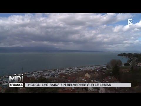 SUIVEZ LE GUIDE : Thonon-les-Bains, un belvédère sur le Léman