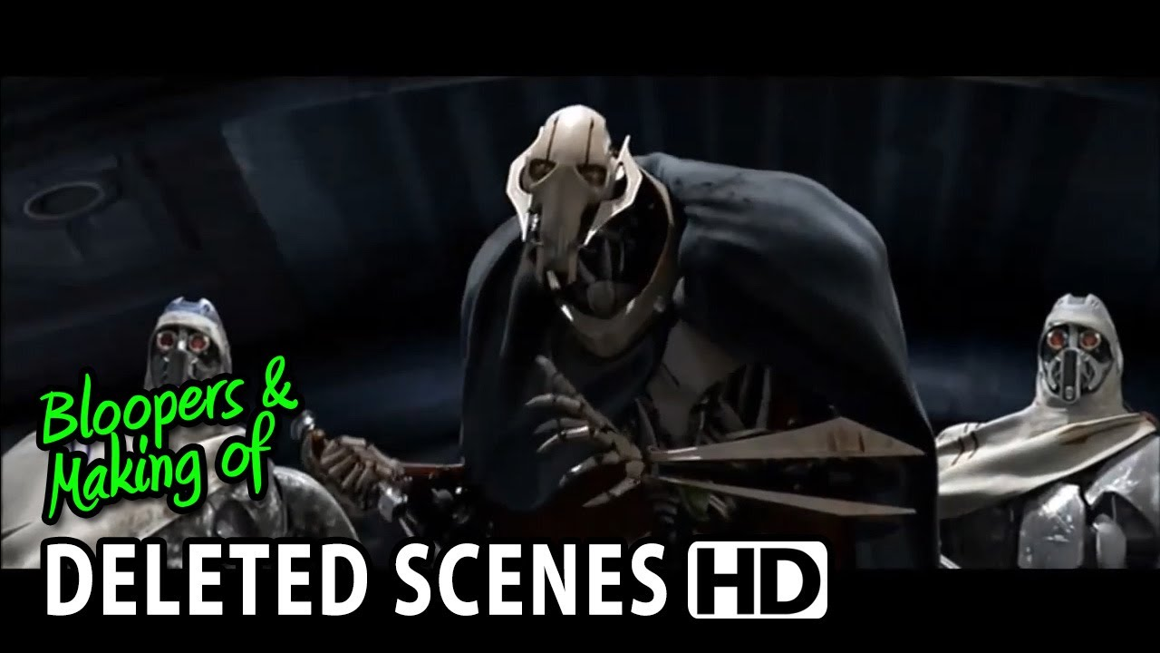 Star Wars Episode Iii Revenge Of The Sith 2005 Deleted Extended Alternative Scenes 1 Youtube