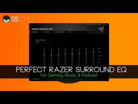 Perfect Razer Surround EQ Setting