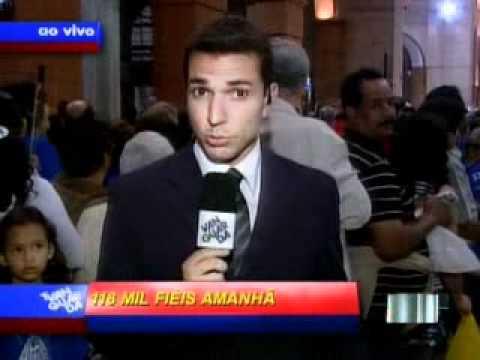 VNews   Nossa Região   Devotos relatam milagres alcançados por intermédio de Nossa Senhora  Veja vídeo