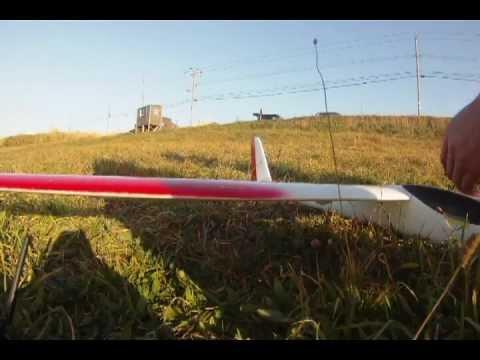 RC glider soaring PHOENIX 2000 sunset coast