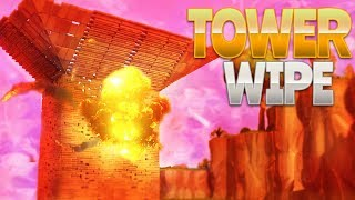 TOWER WIPE! (Fortnite Battle Royale)