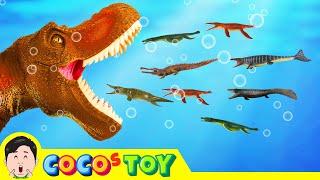 한국어ㅣ욕심많은 티라노사우루스 이야기!! 어린이 공룡 만화, 공룡 이름 맞추기, 꼬꼬 애니메이션, 컬렉타 #176ㅣ꼬꼬스토이