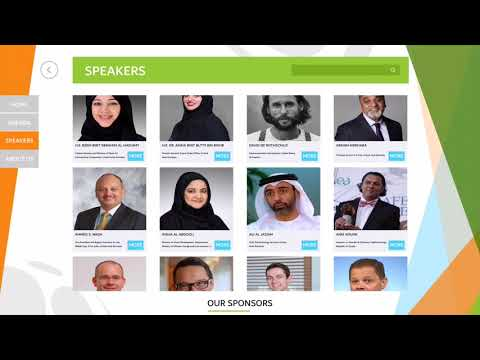 Information application - World green Economy Summit -