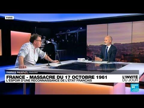 """Download Fabrice Riceputi, historien : le massacre d'Algériens du 17 octobre 1961 """"est un massacre colonial"""""""