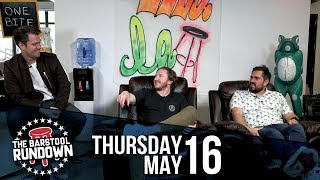 Are the Refs Intentionally Missing Calls for Ratings? - May 16, 2019 - Barstool Rundown