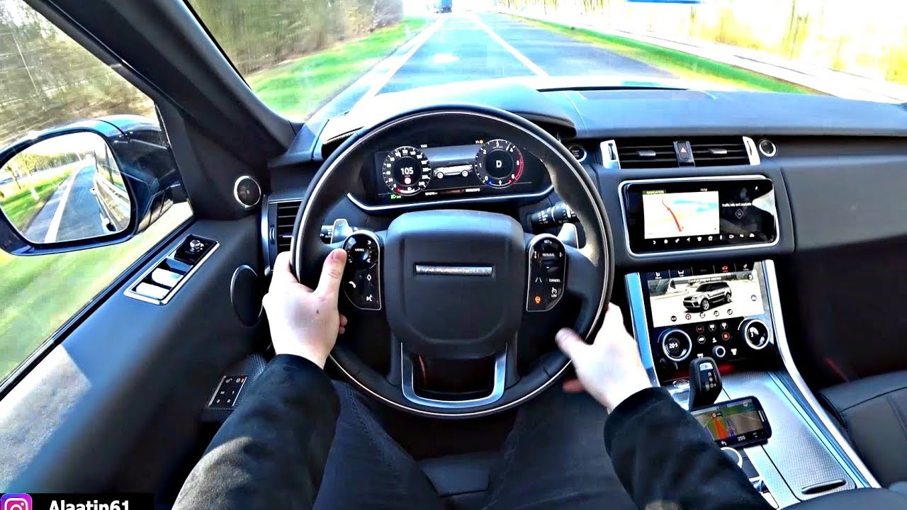Range Rover Evoque >> The New Range Rover Sport 2020 Test Drive - YouTube