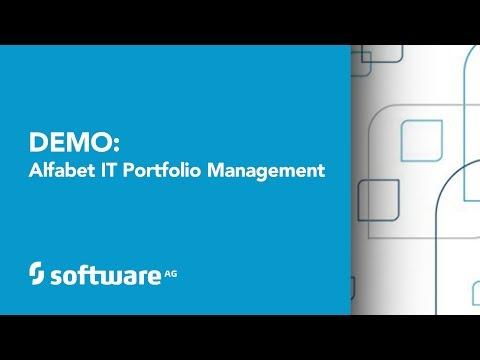 Demo: Alfabet IT Portfolio Management