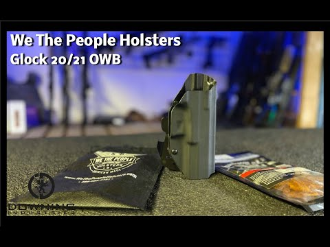 We The People Holster Review - Glock 20/21 OWB