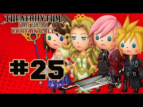 Theatrhythm Final Fantasy: Curtain Call - Walkthrough Part 25 Music Stage - Final Fantasy Type-0