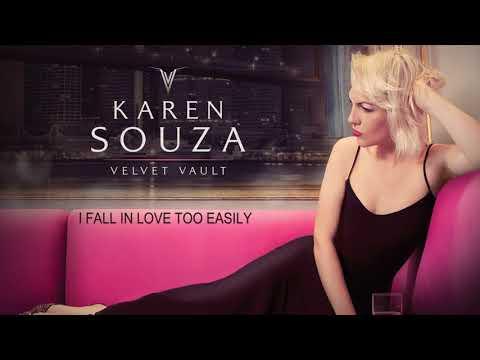 I Fall In Love Too Easily - Chet Baker´s song - Karen Souza - Velvet Vault - Her New Album