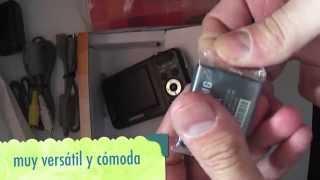 unboxing samsung es80 digital camera