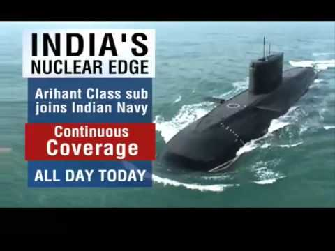 India Launches Indigenous Nuclear Submarine - INS Arihant (Arihant Class Nuclear Submarine)