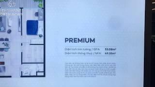 Căn hộ mẫu 1pn dự án The Sóng Thi Sách Vũng Tàu | An Gia