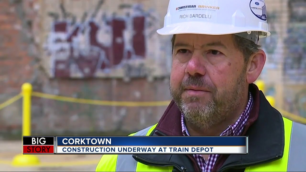 Ford shows off construction progress at Corktown's Michigan Central Train Depot