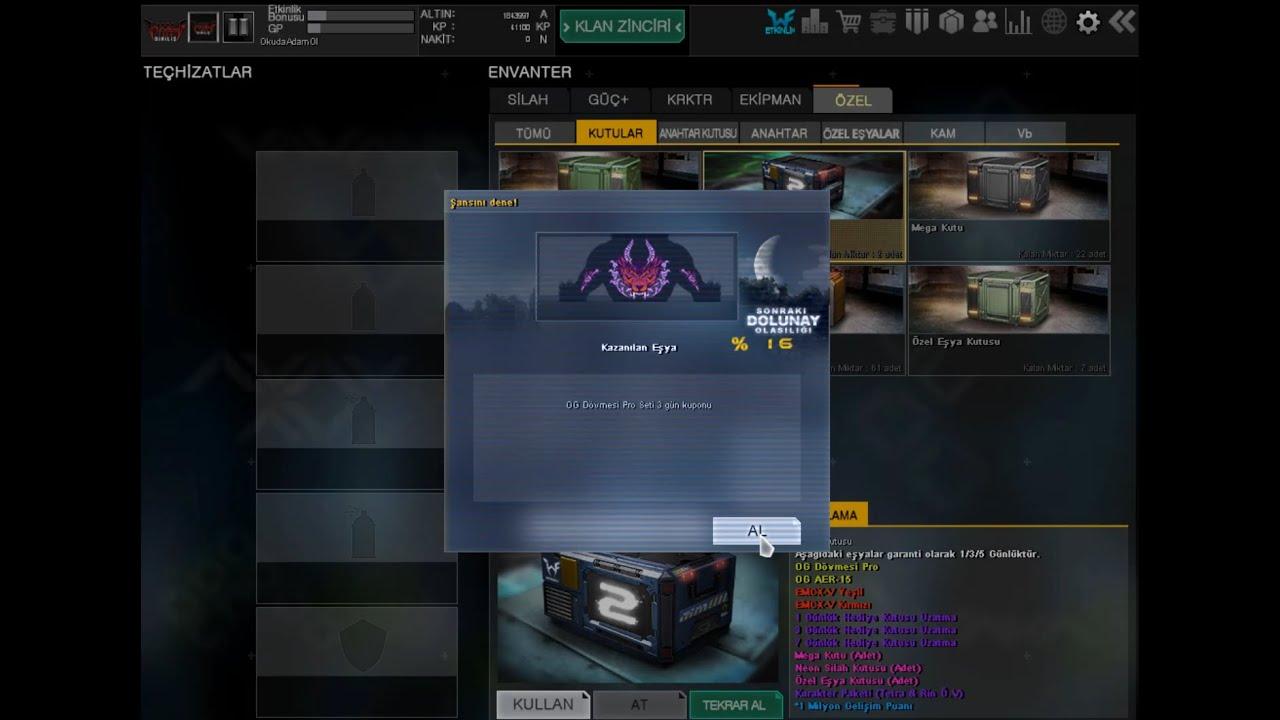 Wolfteam 350 Nakite 5 Günlük OG Dövmesi Seti Aldım! (şaka değil gerçek)