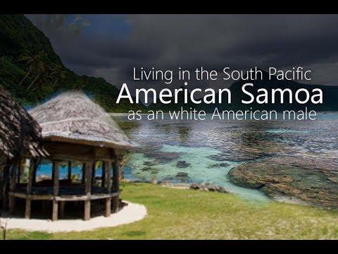 American Samoa as a white American man!