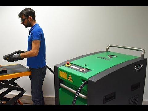 Machine de décapage laser - DRAGO Thick Mobile