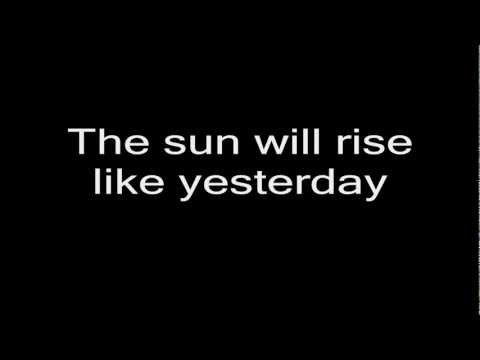 Guster - I Hope Tomorrow Is Like Today (Lyrics)