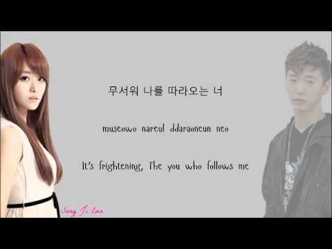 Song Ji Eun Ft Bang Yongguk - Going Crazy Lyrics [Han+Rom+Eng]