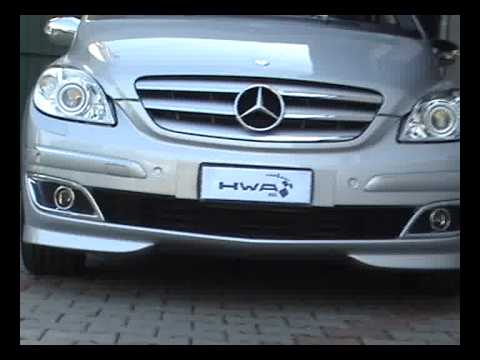mercedes benz classe b 200 turbo amg hwa youtube. Black Bedroom Furniture Sets. Home Design Ideas