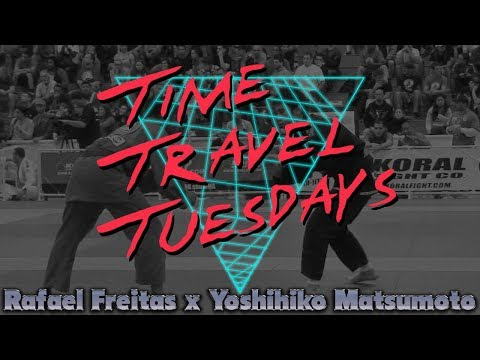 Yoshihiko Matsumoto vs Rafael Freitas Pan Jiu-jitsu Championship 2009