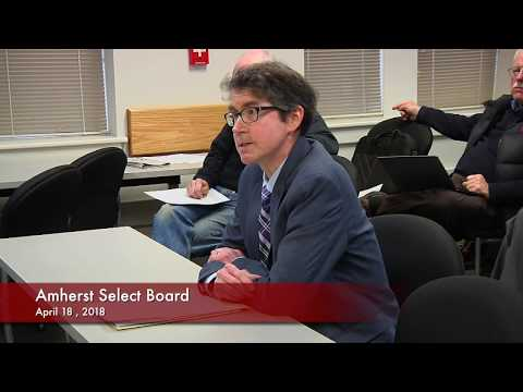 Amherst Select Board 4-18-18