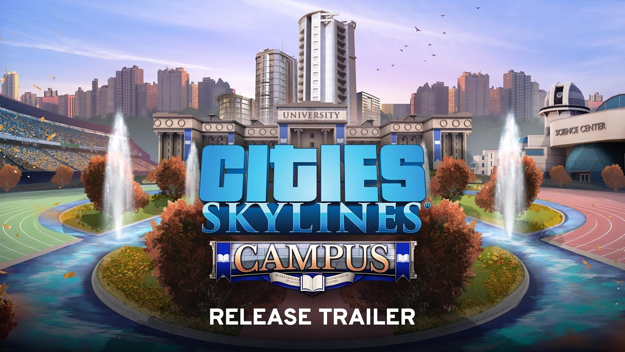 Campus expansion lands for Cities: Skylines - Green Man