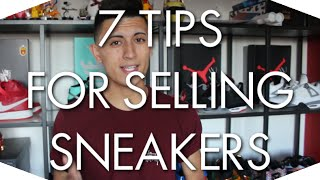 TIPS FOR RESELLING  SNEAKERS