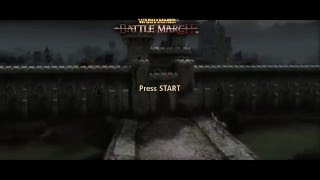 Warhammer Mark of Chaos Battle March Title Theme Animatic (2006, Namco Bandai/Black Hole)