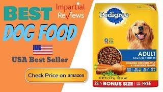 Best dog food 2020 | food-pedigree adult dry - roasted chicken, rice & vegetable flavor