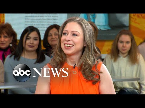 Chelsea Clinton reacts to MeToo, TimesUp movements