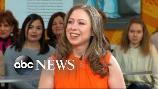 Chelsea Clinton reacts to #MeToo, #TimesUp movements