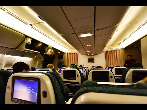 Premium Economy | Cathay Pacific CX890 Hong Kong to New York Newark Boeing 777-300ER (#21)