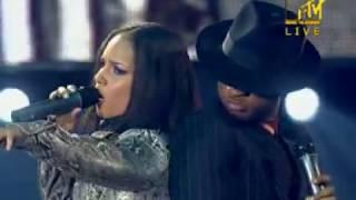 Usher & alicia keys. my boo. live performance.