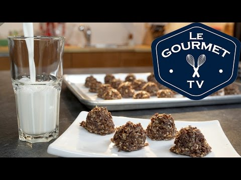 Best Chocolate Peanut-Butter No Bake Cookies Recipe - LeGourmetTV