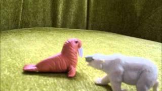 Polar Bear and Walrus Animation