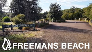 Freemans Beach Campground - Munmorah State Conservation Area, …