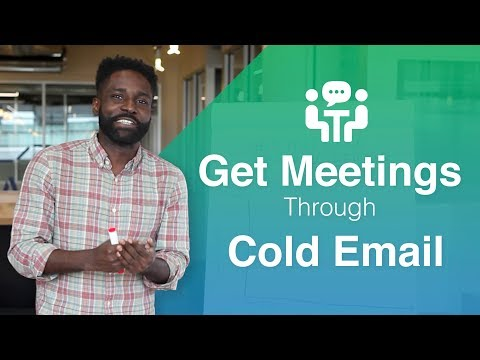 How to Request and Get a Sales Meeting Through a Cold Email