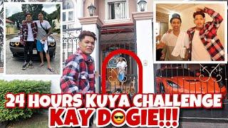 24 HOURS KUYA CHALLENGE KAY DOGIE!!!
