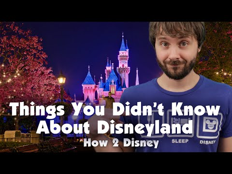 THINGS YOU DIDN'T KNOW ABOUT DISNEYLAND - How 2 Disney ...