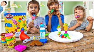 Play-Doh Ice Cream Store Pretend Play