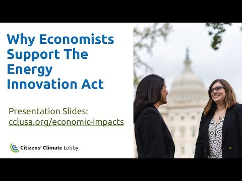 CCL Training: Understanding Economic Support For The Energy Innovation Act