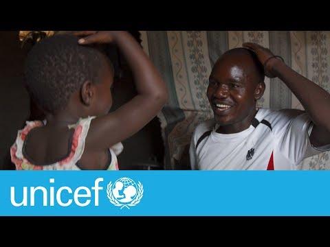 Meet a super dad at a refugee camp I UNICEF